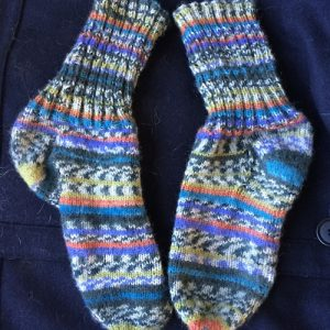Traditional Top Down Sock Class