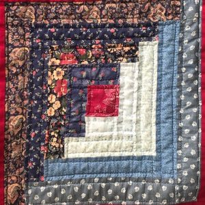 Log Cabin Quilting Class on Zoom